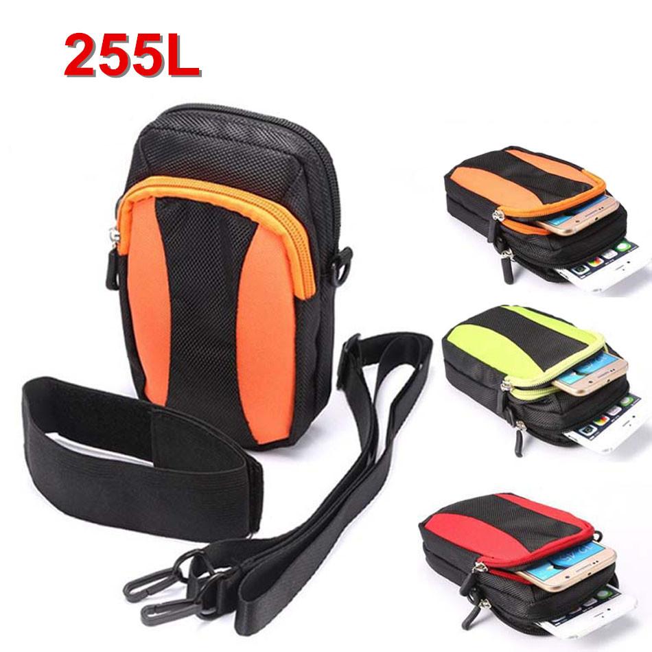 厂家定做户外运动手机袋 扣手臂手腕手机袋 单肩斜挎手机包 255
