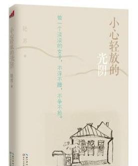小心轻放的光* 陆苏随笔集 王小柔推荐 文学 长江文艺出版社
