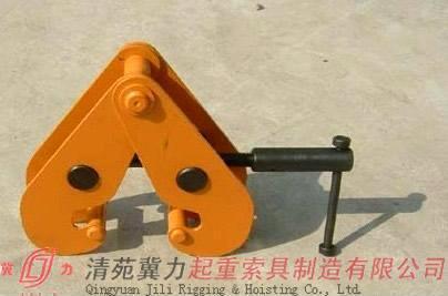 冀力钢轨夹钳 优质钢轨夹持器 安全可靠 冀力优质出品图片
