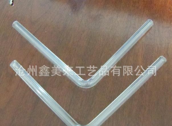 高硼硅耐热玻璃弯管 90℃玻璃弯管 直角玻璃弯管
