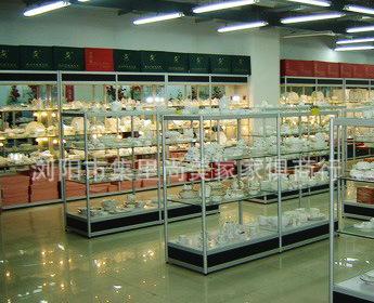超市 商场展柜 展架 各类专柜定做 样品陈列架 酒柜等等
