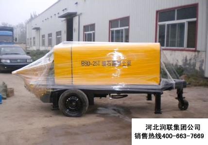 安徽细石混凝土输送泵多少钱 细石混凝土泵哪个牌子好用的不错
