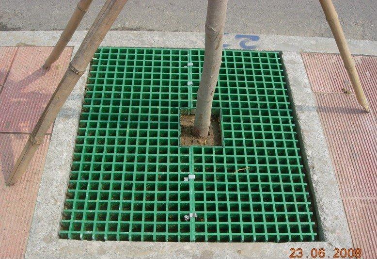 广东供应广通1.222x3.666等不同规格玻璃钢格栅 洗车房玻璃钢格栅