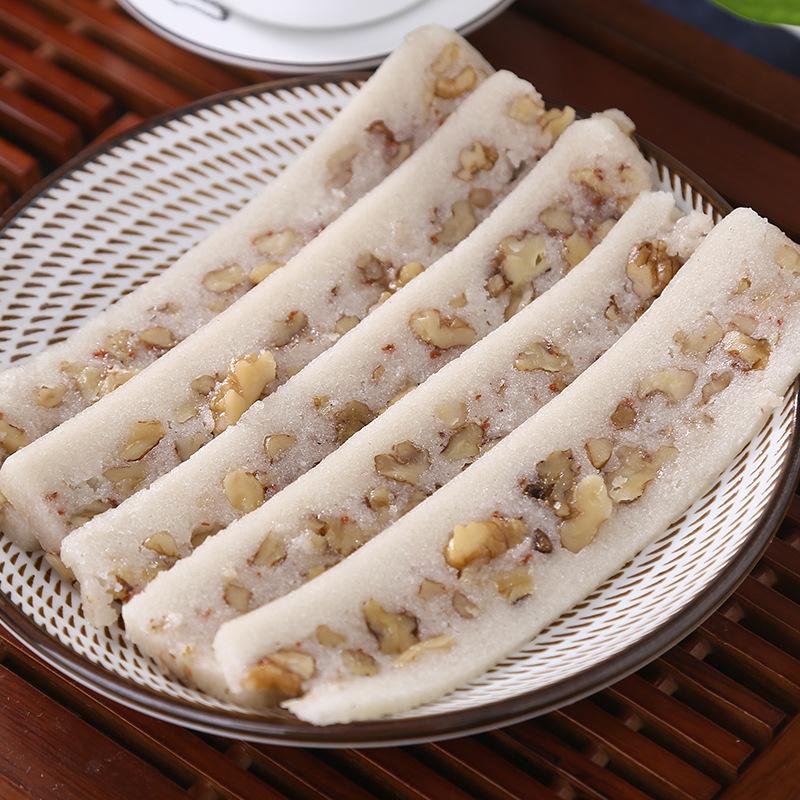 桃片传统手工制作糕点零食小吃零食 经典零食 休闲食品 香甜.