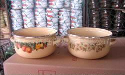 印花搪瓷烧锅