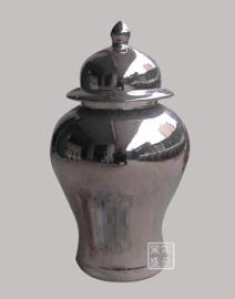 装饰陶瓷将军罐