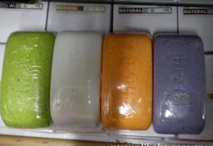 韩国火山泥香皂 AD火山泥~火山泥天然活肤香皂