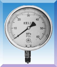 充油压力表YN-50 YN60 YN75 YN100 YN150