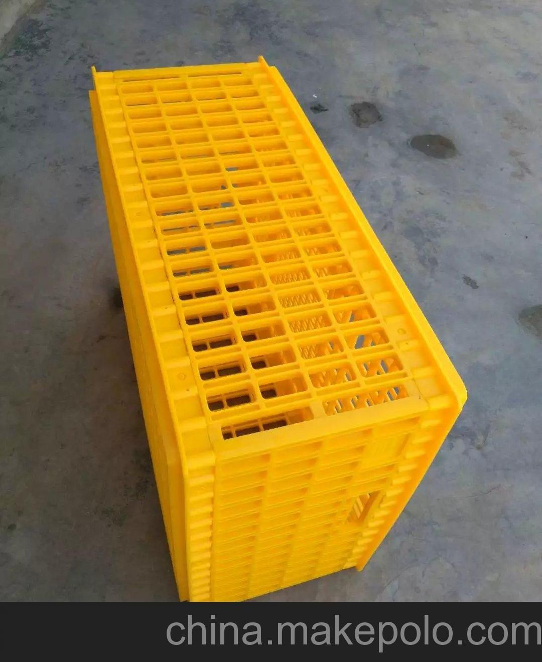 海南兴丰塑料鸭笼 黄色12斤全新料塑胶鸭笼