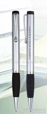 金属圆珠笔,广告礼品笔,硅胶圆珠笔,万里文具,外单圆珠笔,OEM金属1