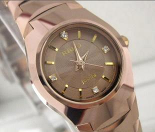 钨钢防水表 100%高纯度 手表 钨钢手表 防水手表 女表 8