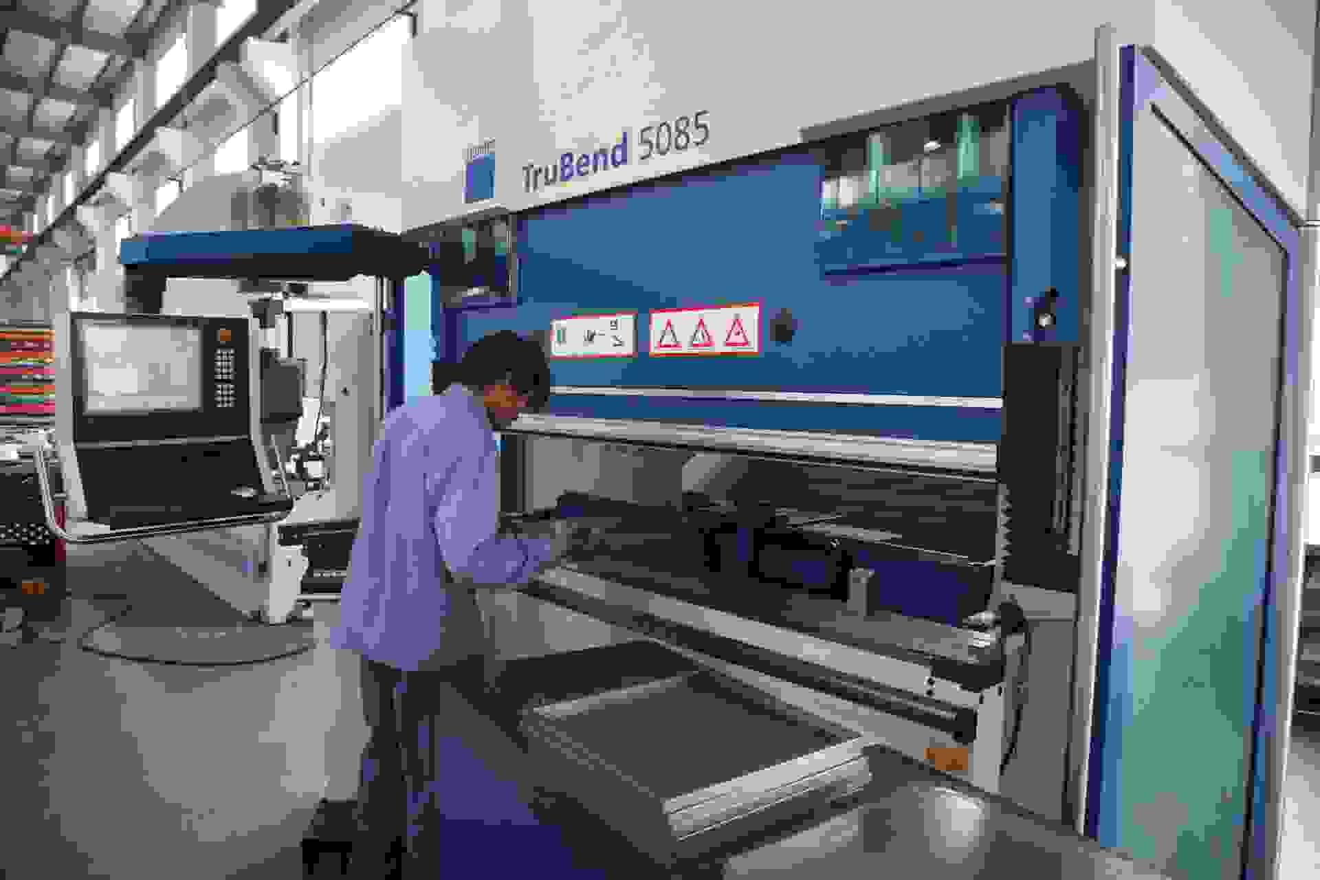 江苏地区通快大功率激光切割机对外加工 折弯钣金件加工