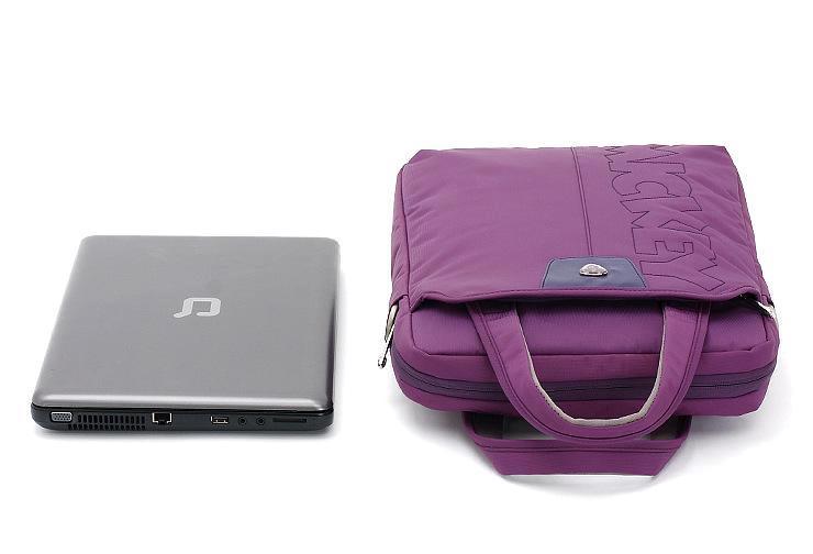 正品迪斯尼专柜 时尚简约笔记本电脑包 手提斜挎包 *做工 精品