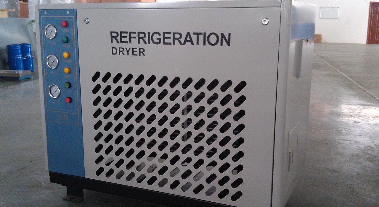 供应富阳超滤WSA500压缩空气冷干机