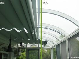 戶外遮陽專用電動折疊遮陽簾