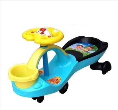 包邮儿童扭扭车摇摆学步车溜溜车静音轮一件代发奶粉赠品童车直批