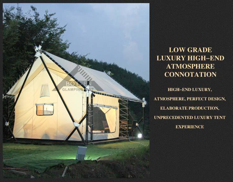 botinlvyou豪华露营酒店帐篷 glampingtent 韩国奢华野营 t9000