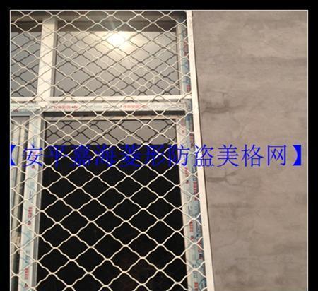 安平厂家直销供应电镀锌美格防盗窗网