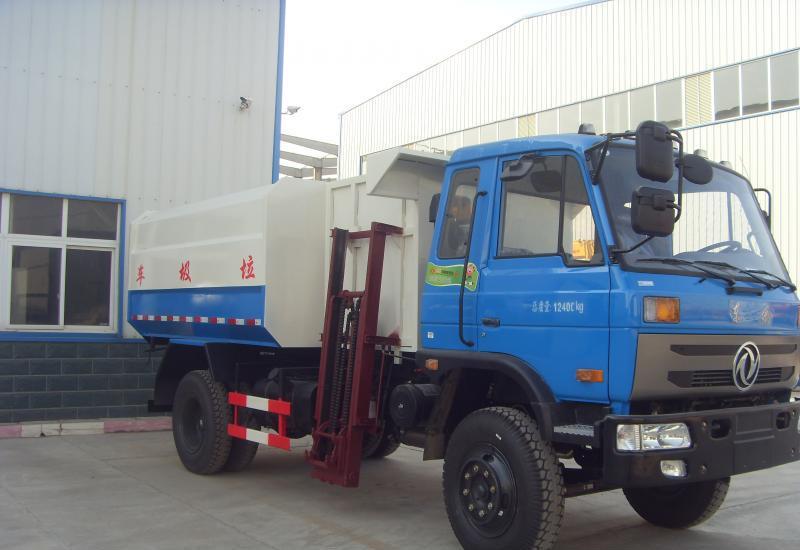 供应东风10方自装卸式垃圾车报价