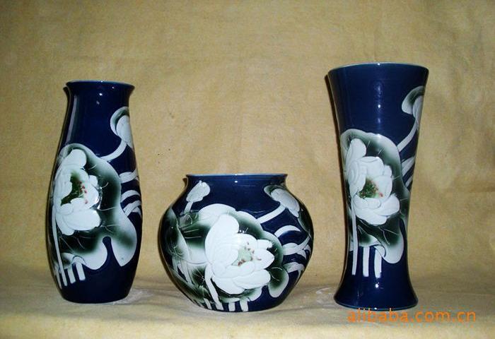 批发陶瓷摆件 陶器工艺品 家居摆件2图片