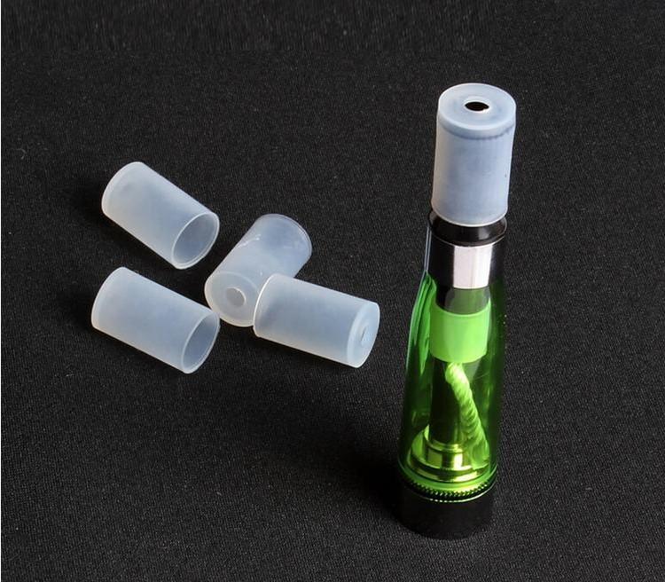 电子烟硅胶试烟嘴一次性烟嘴  CE4雾化器卫生帽 批发510接口通用