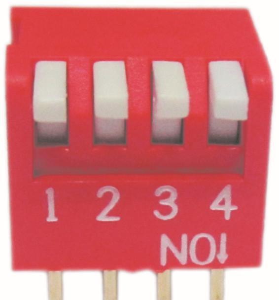 87532723 产品展示: 产品名称:半脚距拨码开关,1.图片