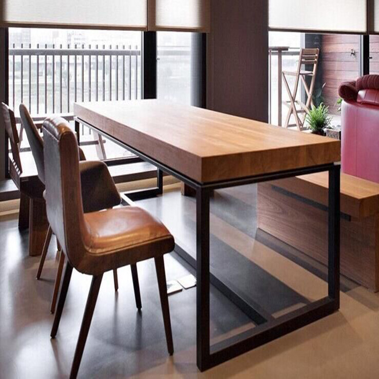 qq餐厅餐桌怎么取消_主题餐厅 咖啡厅创意餐桌椅 创艺酒吧西餐厅茶厅实木餐桌椅 组合