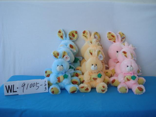 毛绒玩具-萝卜兔(WL91005-1-2-3)
