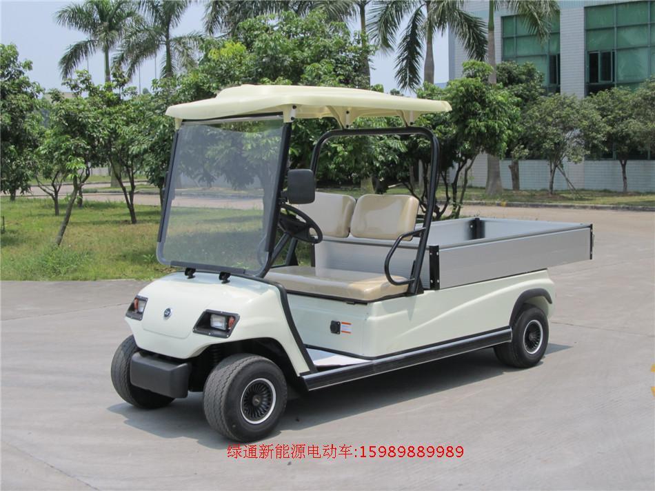 江西观光车幸福绿通酒店布草车景区两人座电动货车