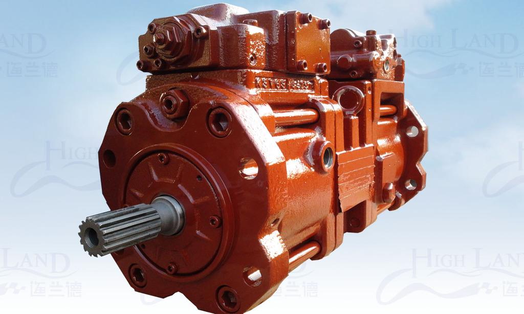 供应济南川崎液压泵k3v系列图片