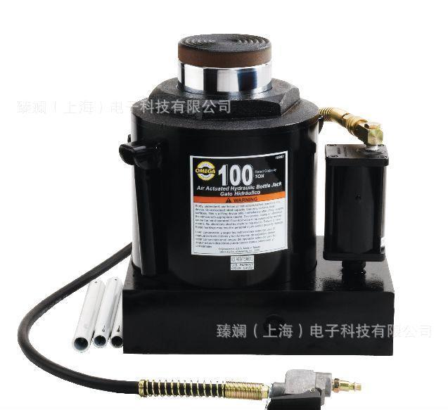 > omega 100吨气动立式千斤顶    omega 100吨气动立式千斤顶 气压图片