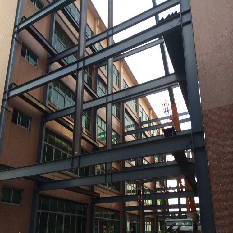 广东高层钢结构厂房房屋承建中山钢结构图纸设计建筑车间仓库
