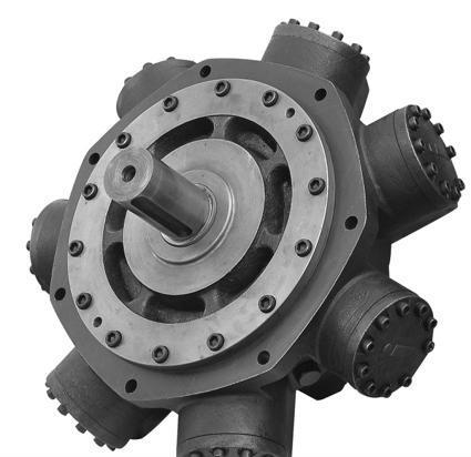 供应优嘉力xhm6-450,xhm6-500外五星液压马达图片