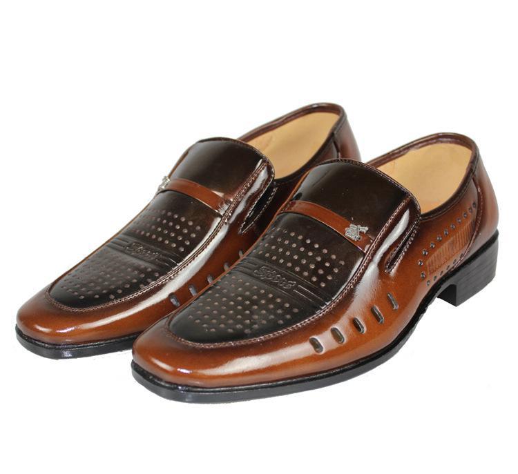 苍南森奇贸易有限公司 产品供应 > 厂家直销低价出售真皮皮鞋 皮鞋图片