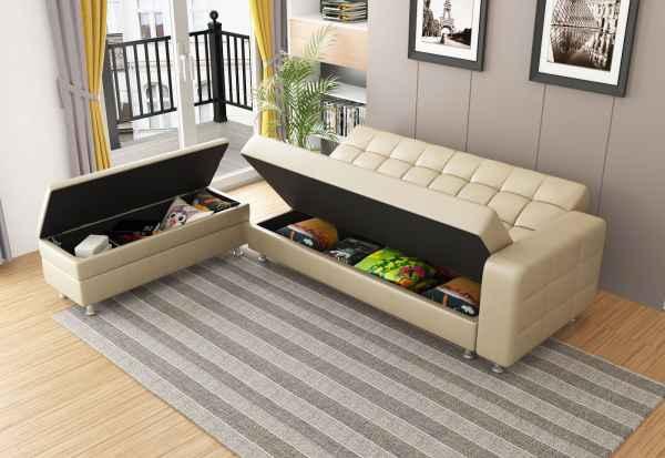 小户型多功能沙发床图片