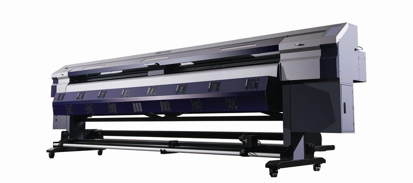 2米宽幅户外写真机 喷绘写真壁纸一体机