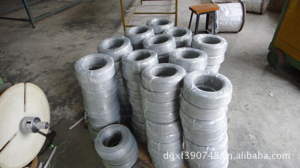 供应包胶铁线适用于玩具厂电线厂