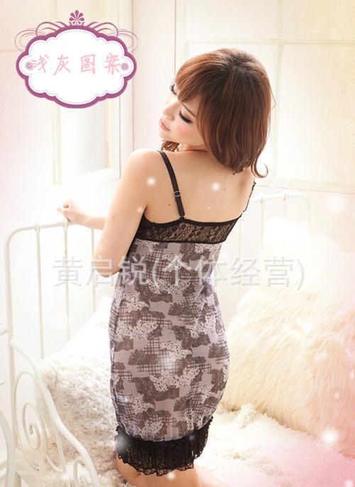 台湾热销夏季性感可爱少女吊带裙情趣睡衣 情趣内衣 睡裙