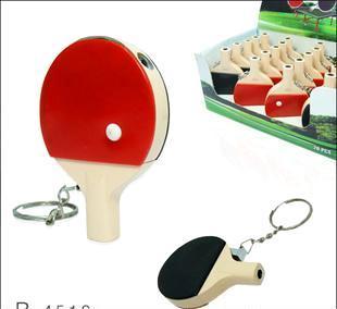 合金双面乒乓球拍打火机电筒 创意打火机 乒乓球拍打火机