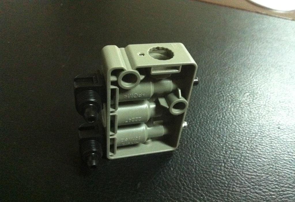 驾驶室座椅减震器 卡车座椅气囊 空气弹簧 气囊高度阀 气囊控制阀图片