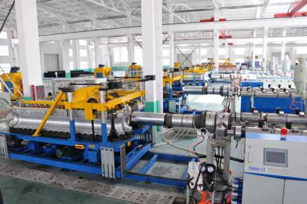 PP双壁波纹管设备供应商