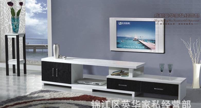 2014现代时尚简约主流客厅卧室家具白色电视柜ld403图片