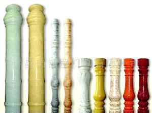 围栏 多种规格环保水泥艺术围栏护栏柱间隔柱