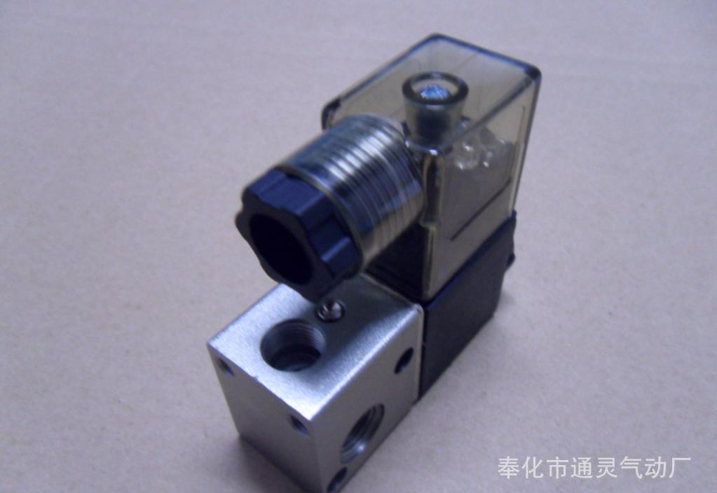 供应3v1-06微型高频直动式气动电磁阀图片