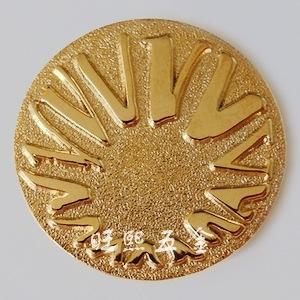 徽章制作 企业司徽定做 厂家专业金属徽章定制 1个起订