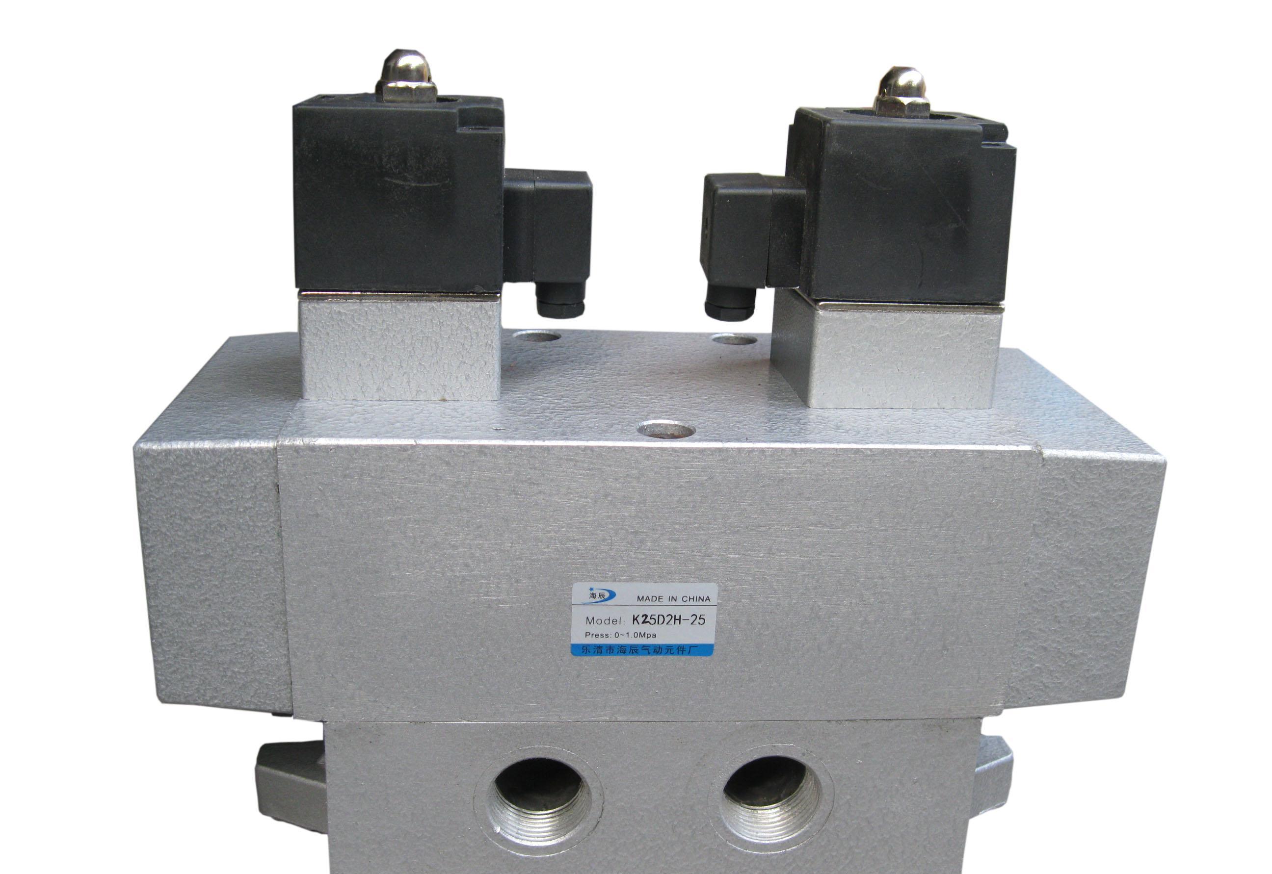 三位五通电磁阀k35d2h-25图片