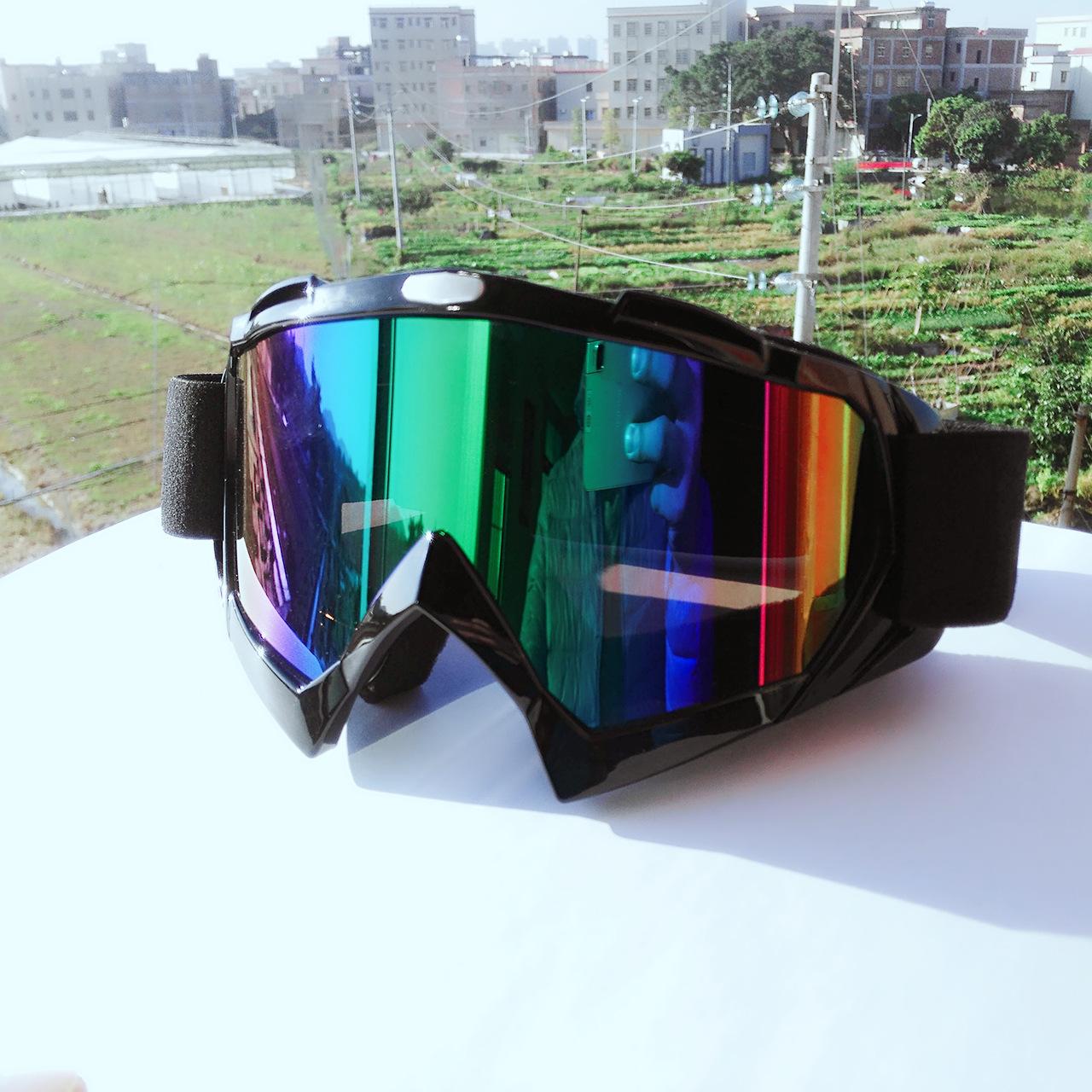 防风眼镜 抗扭曲抗摔护目镜 防尘摩托车越野风镜 滑雪风