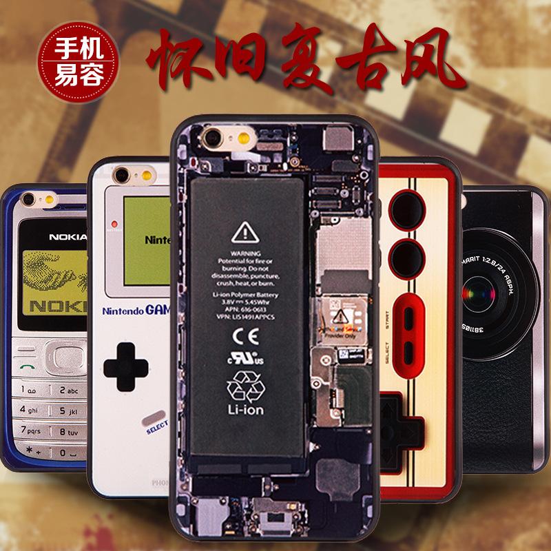 复古相机 拆机 录音带 苹果iphone6手机壳 6 plus创意保护套