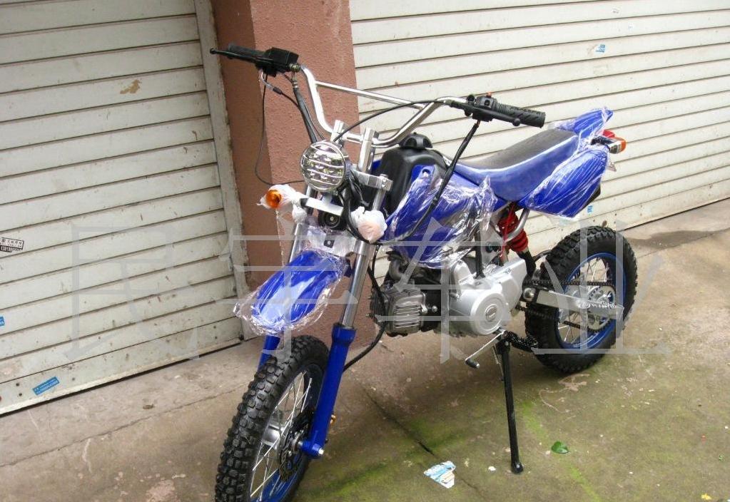 实图110cc越野车 摩托车 飞鹰越野车阿波罗摩托车