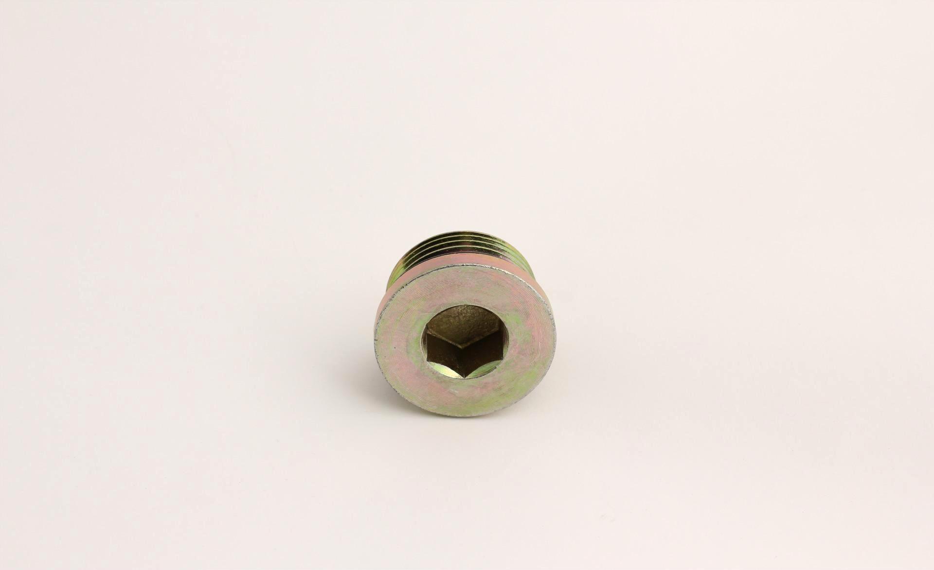 堵头: 内六角堵头,断面o圈密封. 材质碳钢.数控或仪表价格而成.图片